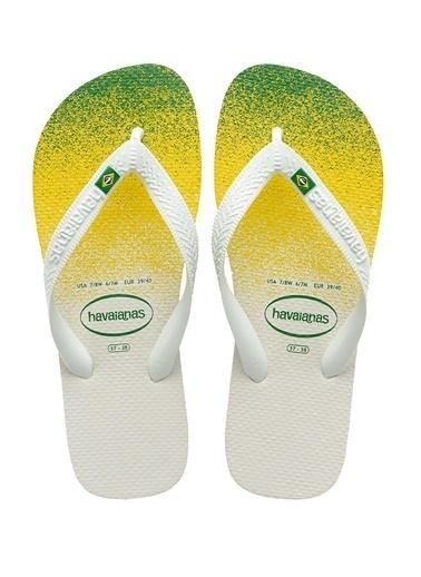 Havaianas Havaianas Brasil Fresh   Erkek Plaj Terliği 101646303 Beyaz